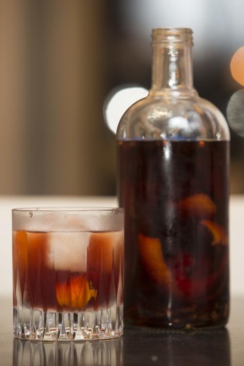 Negroni, cocktail de Noël, Negroni aux épices