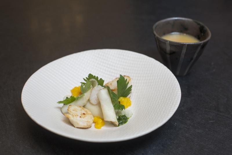 Menu de Noël, recettes de chef, Christophe Pauly, Le coq aux champs, Clément Petitjean, La grappe d'or, Maxime Collard, La table de Maxime.