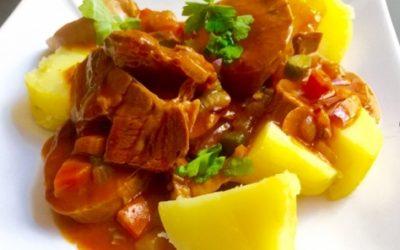 Langue de veau sauce Madère, parce qu'on avait envie d'un plat vraiment savoureux