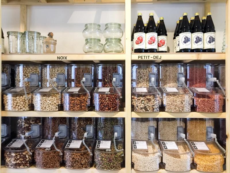 «La grainerie»: épicerie végétalienne