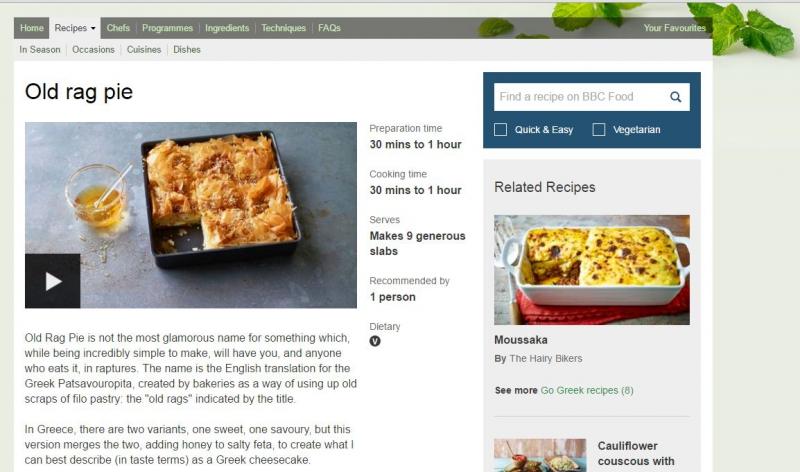 BBC Food victime de l'austérité