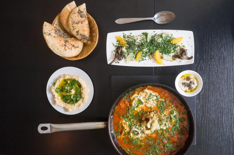 cuisine juive,kitchen 151,houmous