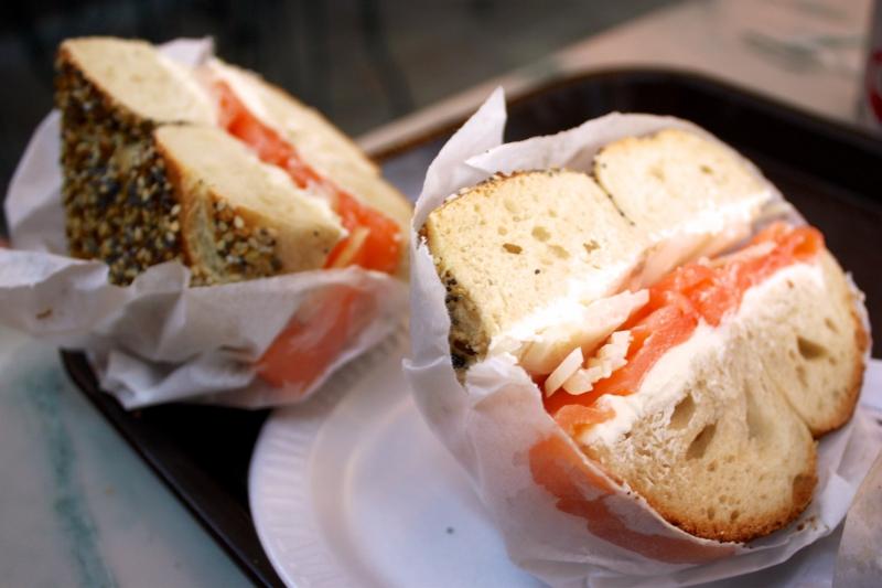 cuisine juive,houmous,babka,pastrami,bagel