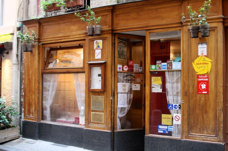 Bouchons, Lyon, Paul Bocuse, trois-étoiles, Le garet, Café Sillon, Petit bouchon Chez Georges