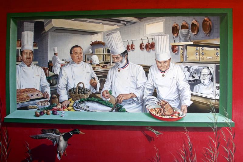 Paul Bocuse, Lyon, Auberge du Pont de Collonges, trois étoiles, Michelin, restaurant, bocuse d'or 2012