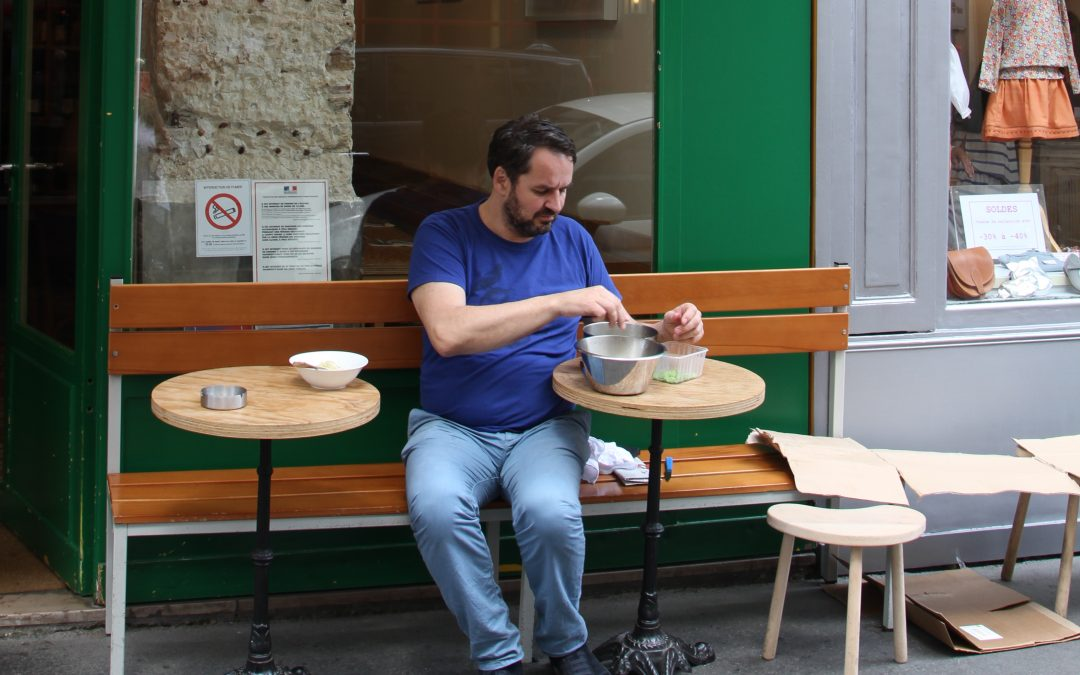«Sauvage»: une cave à manger parisienne nature