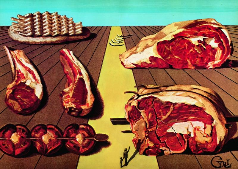 dali,les dîners de gala,art et cuisine,recettes,recettes historiques