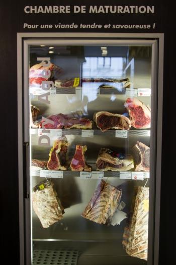 boucherie goeders,verviers,boucherie verviers,rouge pie de l'est,pie rouge,viande maturée,boeuf,entrecôte,steak