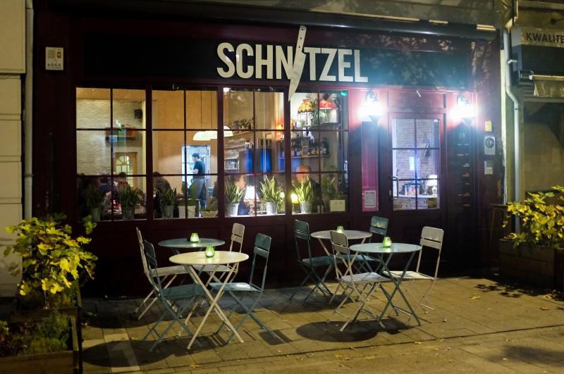 Schnitzel, restaurant Anvers, Anvers, bistrot