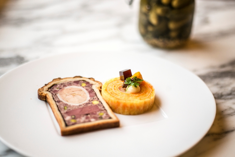 karen torosyan,bozar brasserie,pâté en croûte,classique,gastronomie française,restaurant bruxelles
