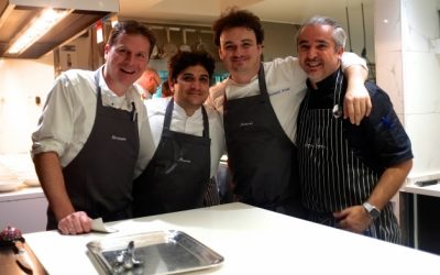 Gelinaz: vingt grands chefs en cuisine chez «Bon Bon»!
