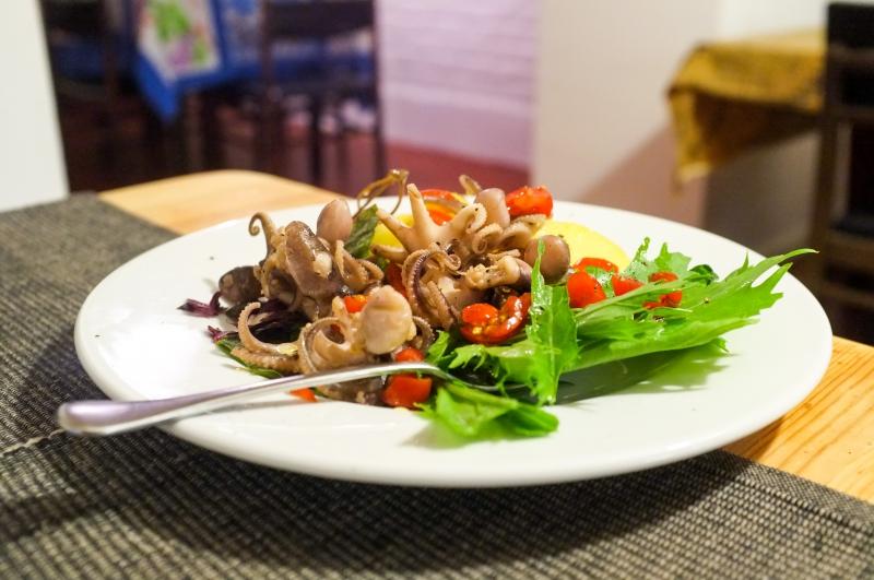 52 Secret garden, restaurant italien, osteria Bruxelles, restaurant Bruxelles, Alessio Castriota