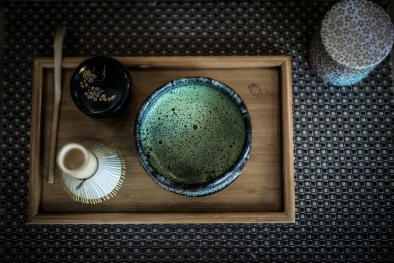 thé vert,thé matcha,matcha latte