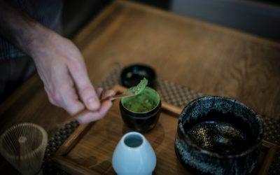 Le thé matcha: l'or vert