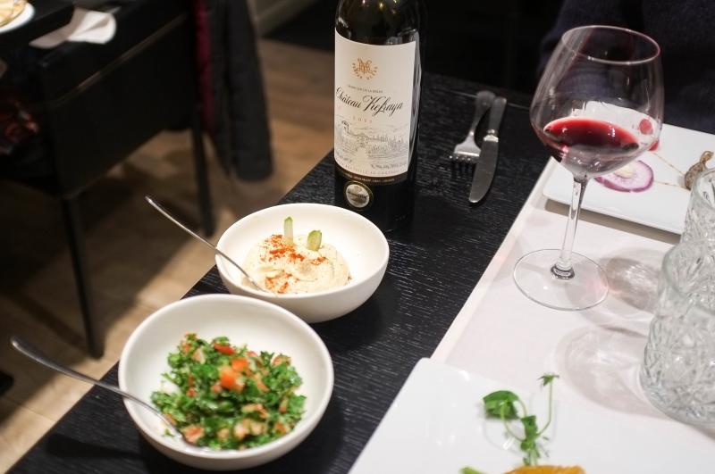 Maza'j, cuisine libanaise, restaurant, bibs gourmands