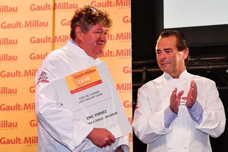 Eric Fernez chef de l'année au Gault&Millau 2018