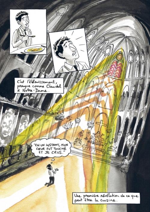 Benoît Peeters, comme un chef, bande dessinée, Casterman