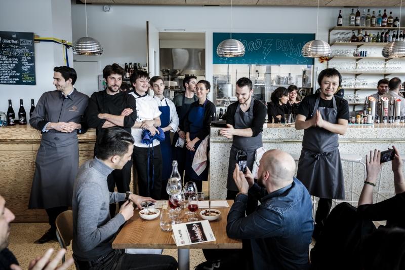 Lyon, attable, festival, gastronomie, Café Sillon, Andrea Pettrini