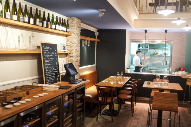 «Cul sec», nouveau bar à vins et à manger