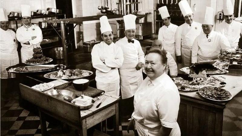Où sont les femmes en cuisine?