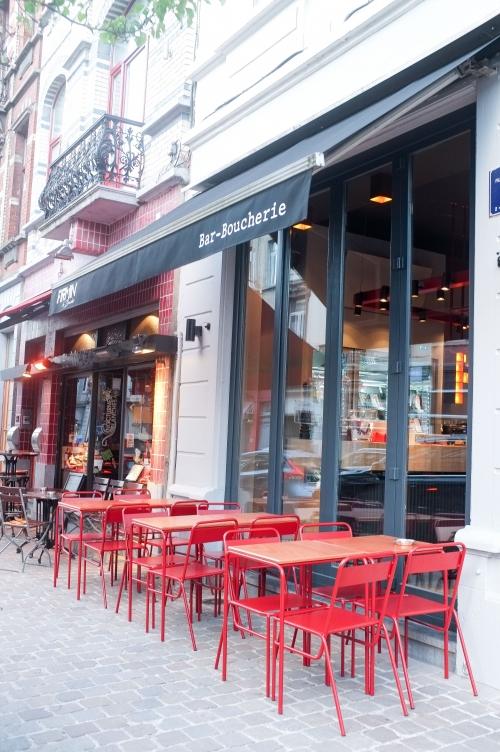 Firmin le boucher, boucherie, bar, Bruxellesles, Alexandre Pomard