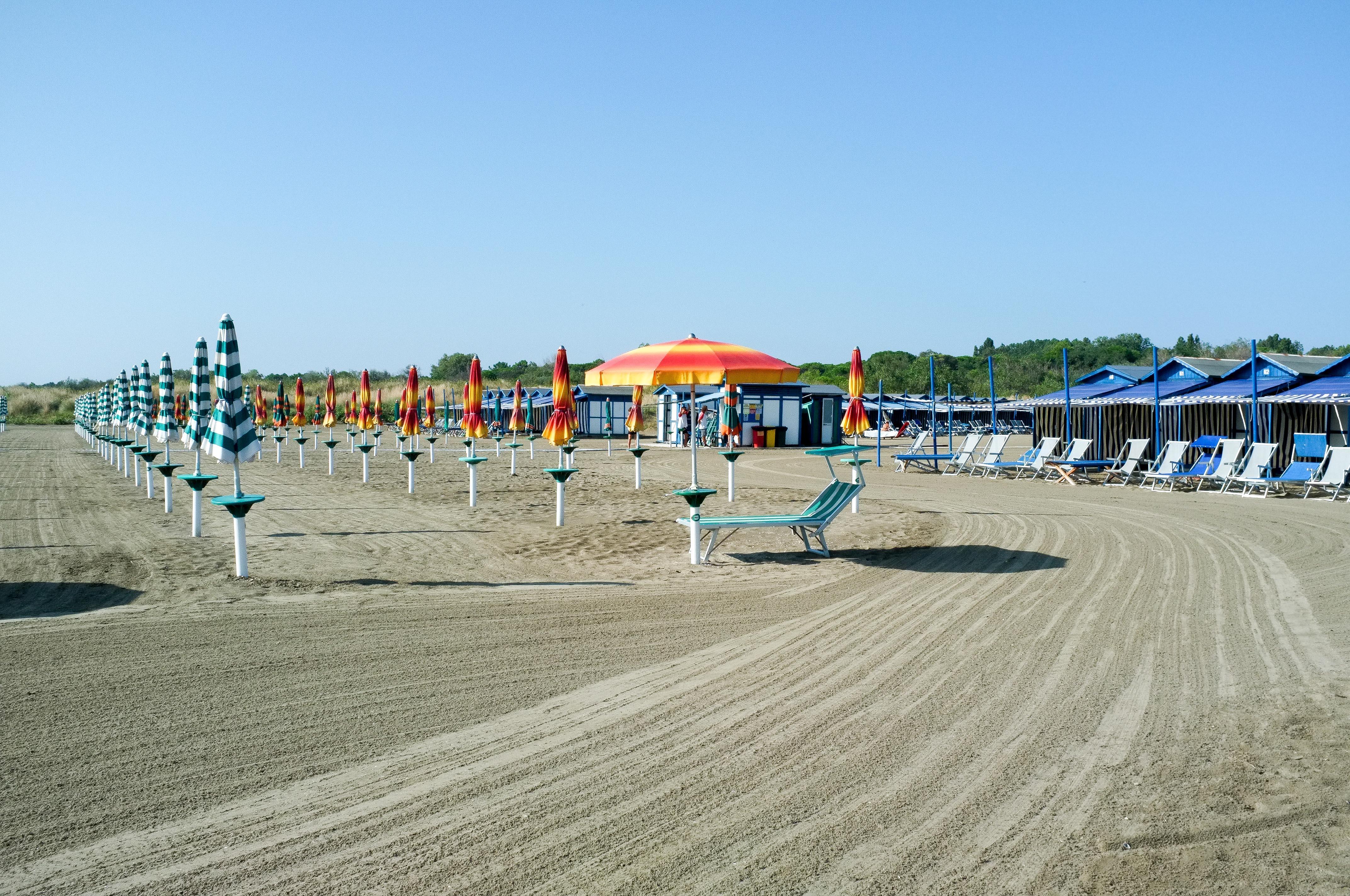 L'une des plages du Lido