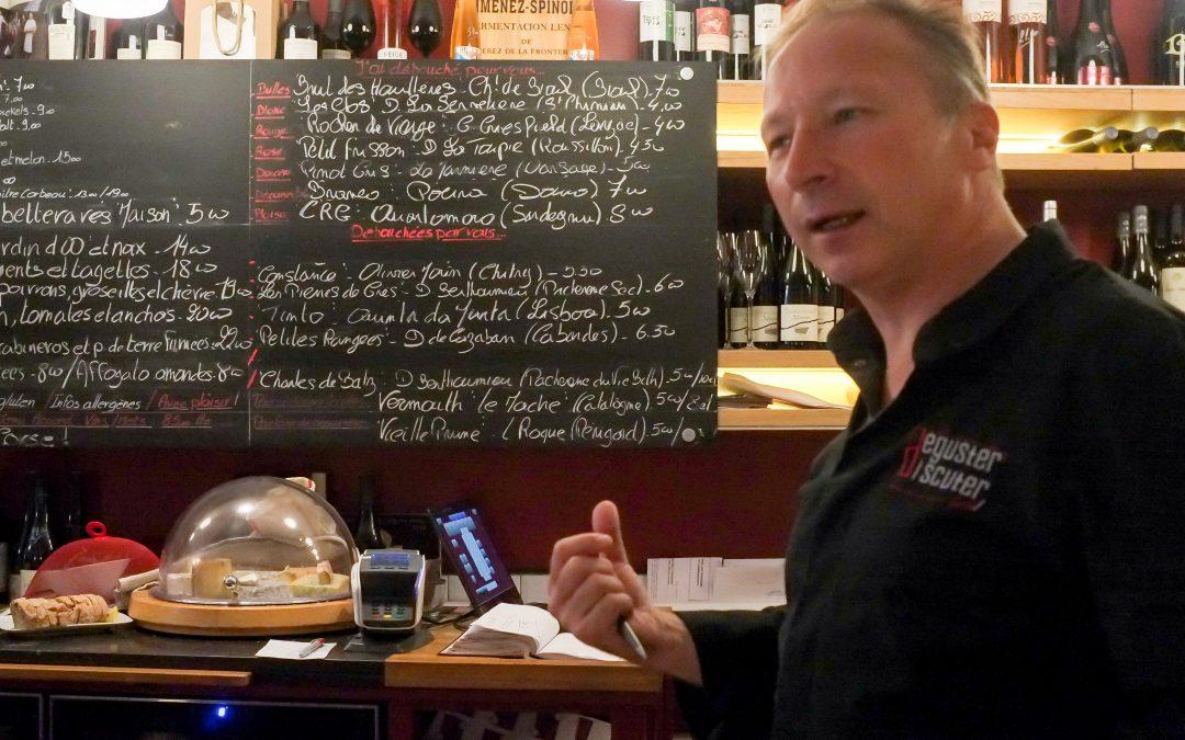 «Vino Vino», bar à vins et à manger namurois