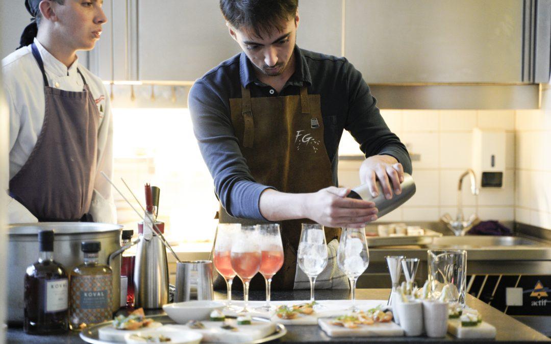 Cocktails et gastronomie font-ils bon ménage?