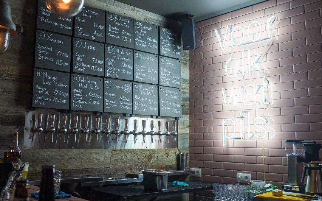 Bar Beenhouwer, un paradis pour beer geeks