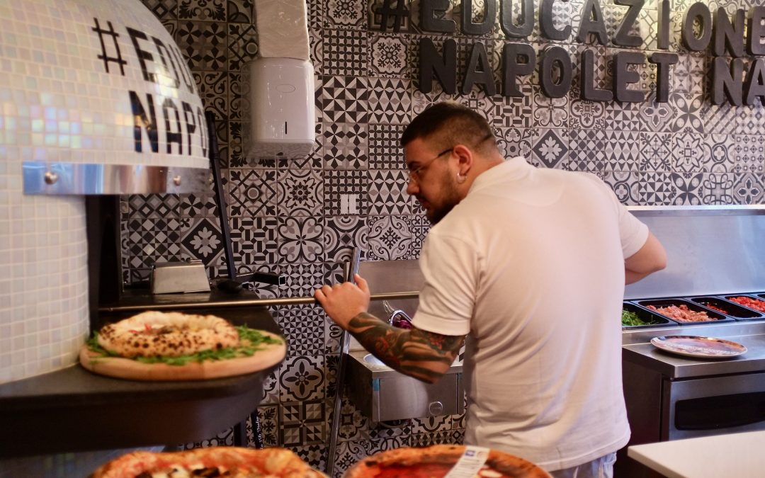 «Educazione napoletana», une pizza comme à Naples à Ixelles