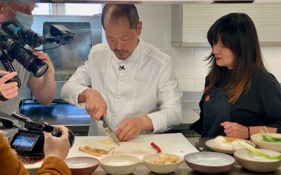 Sang-hoon Degeimbre, ambassadeur de la cuisine coréenne