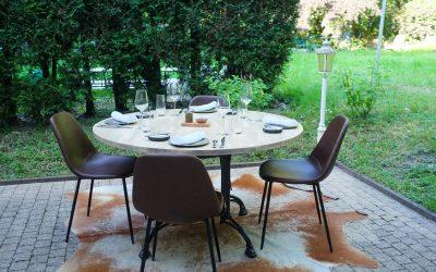 «Sauvage»: Table chic au Sart Tilman